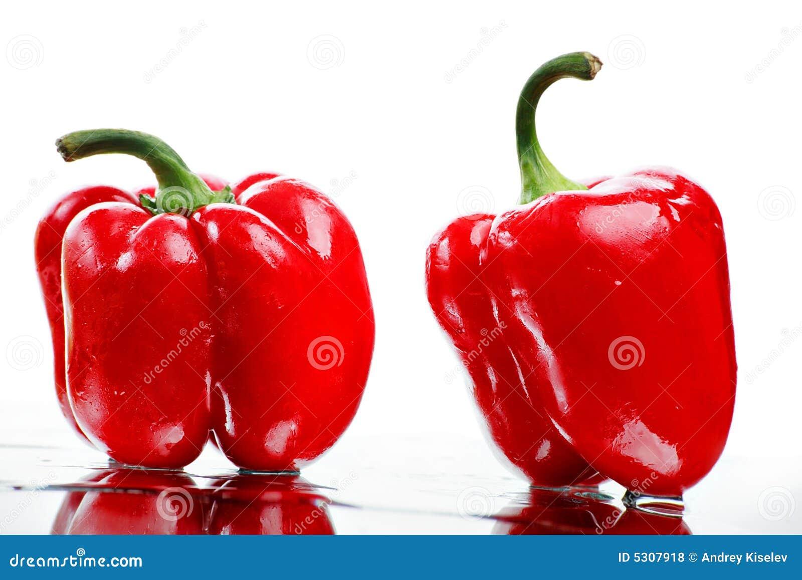 Download Due amici fotografia stock. Immagine di frutte, paprica - 5307918