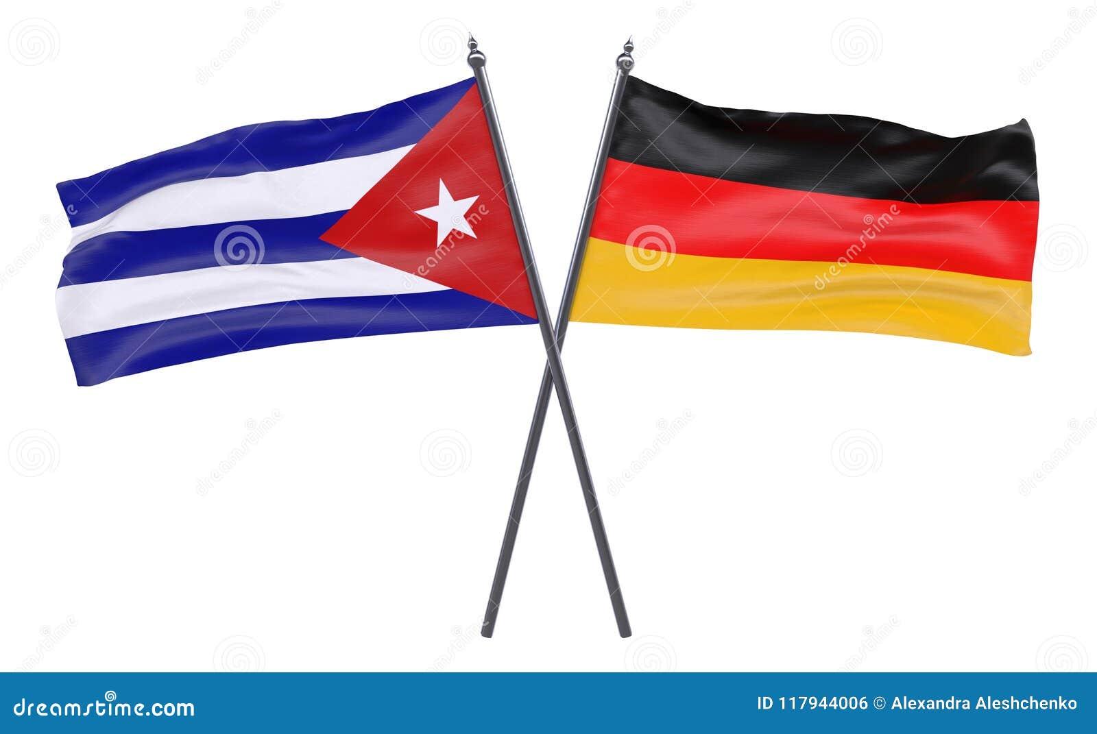 Due bandiere attraversate