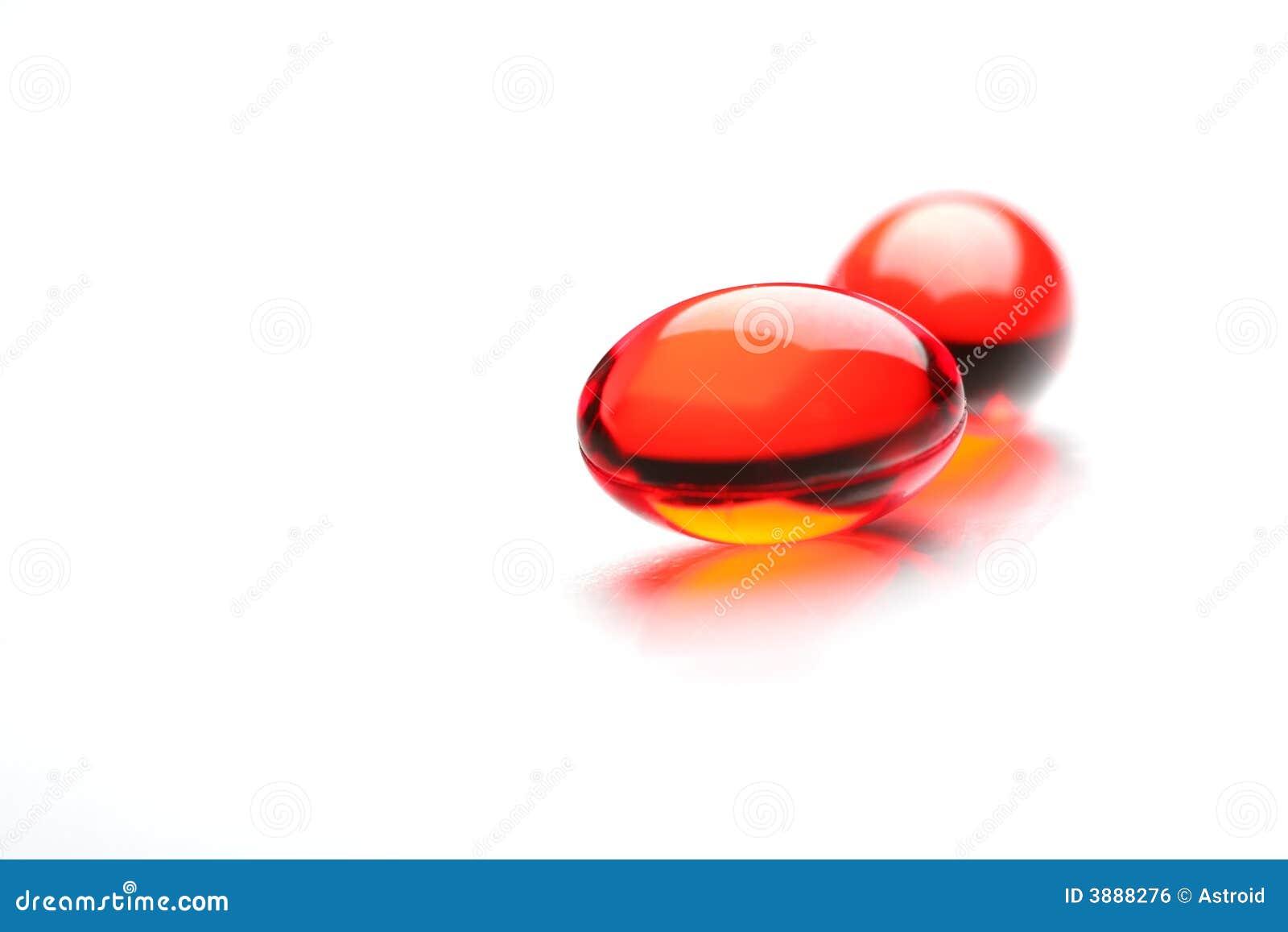 Due capsule rosse