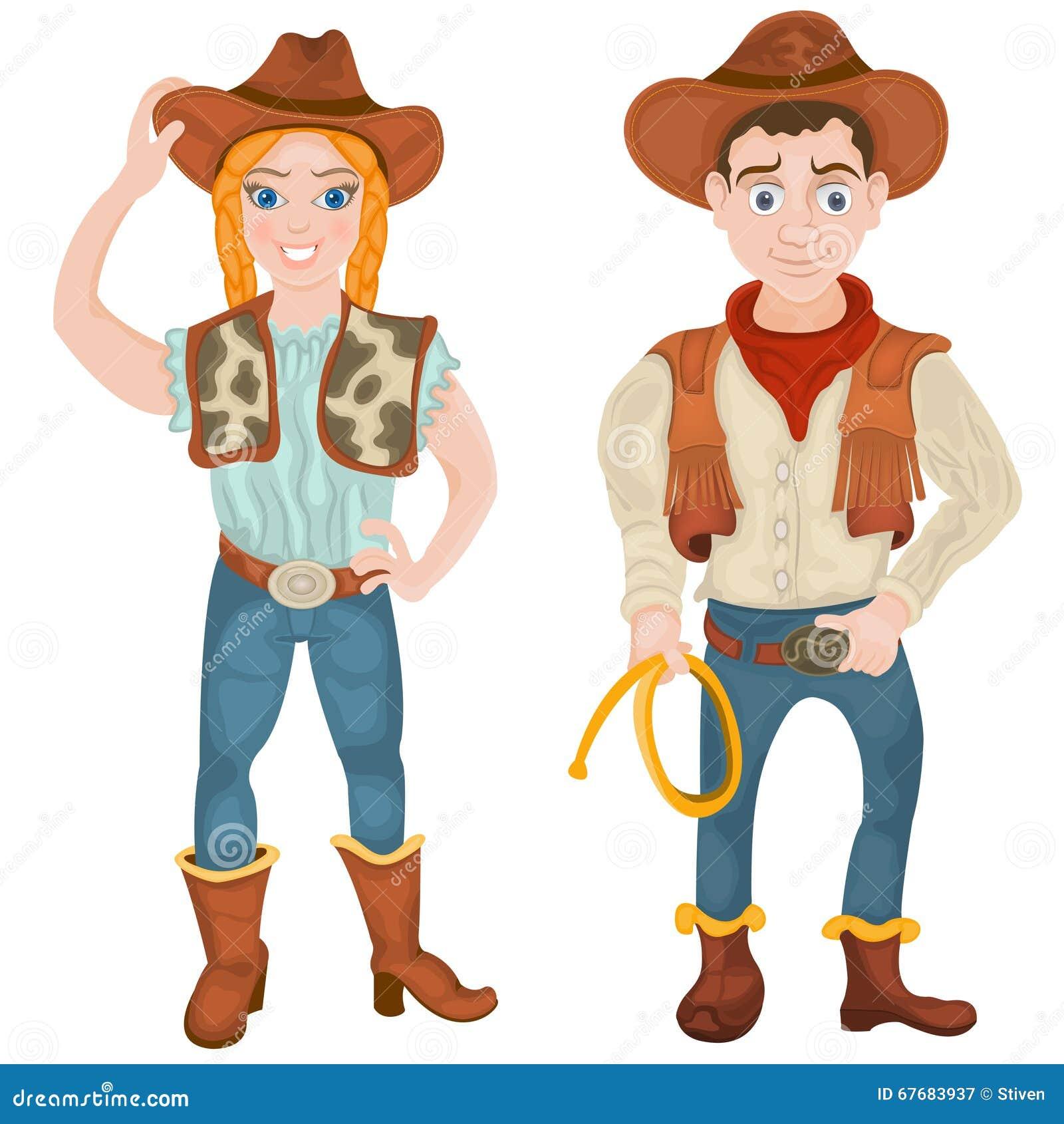 Due caratteri del cowboy