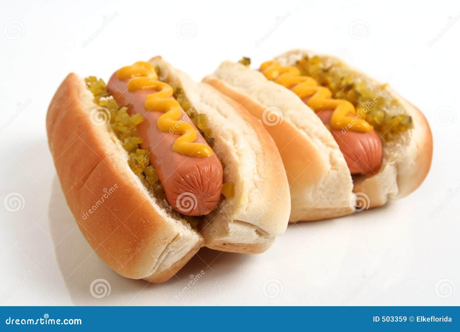 Due hot dog