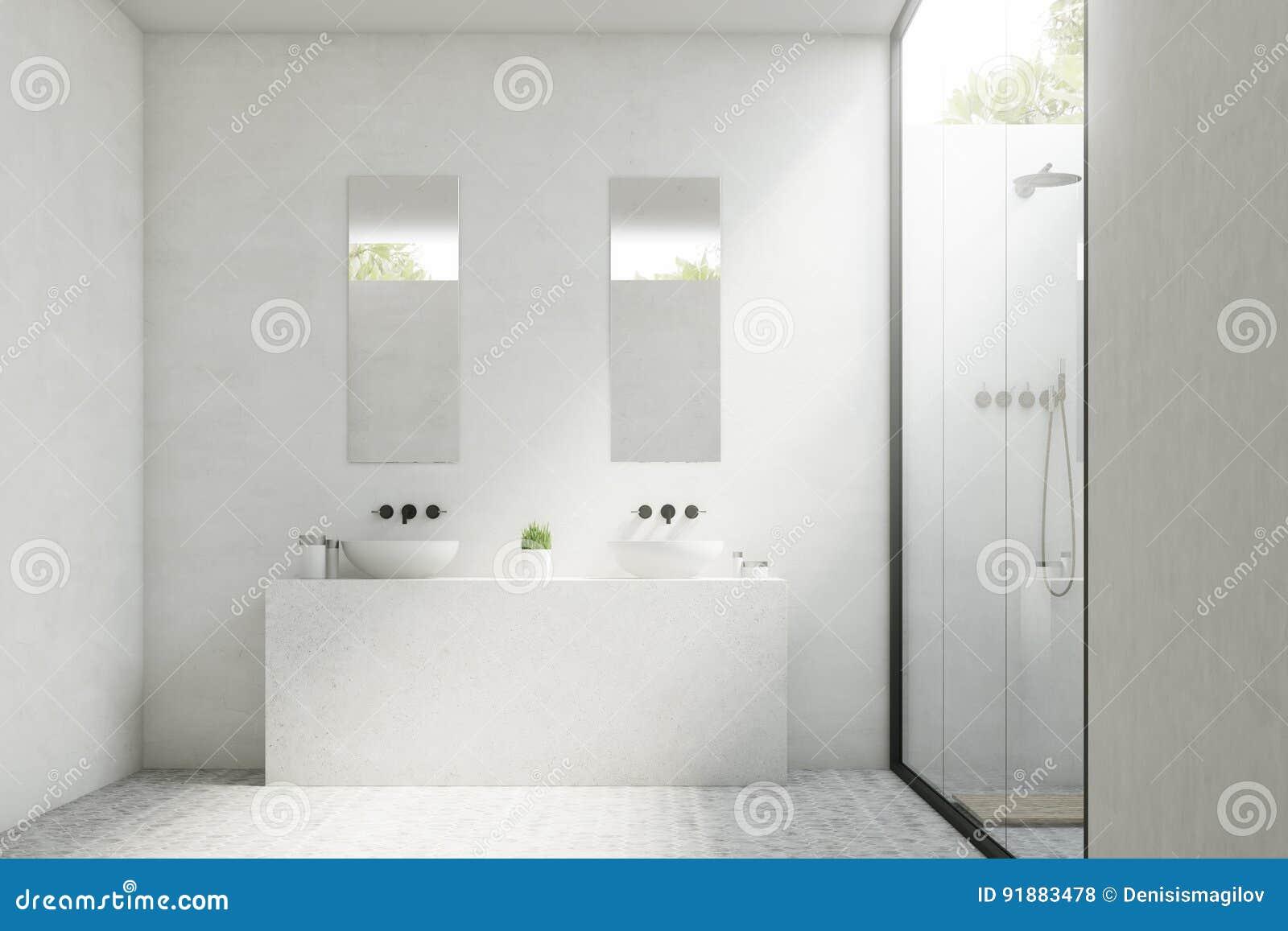 Bagno con due lavandini trilo soggiorno trilo bagno with for Mobile bagno due lavandini
