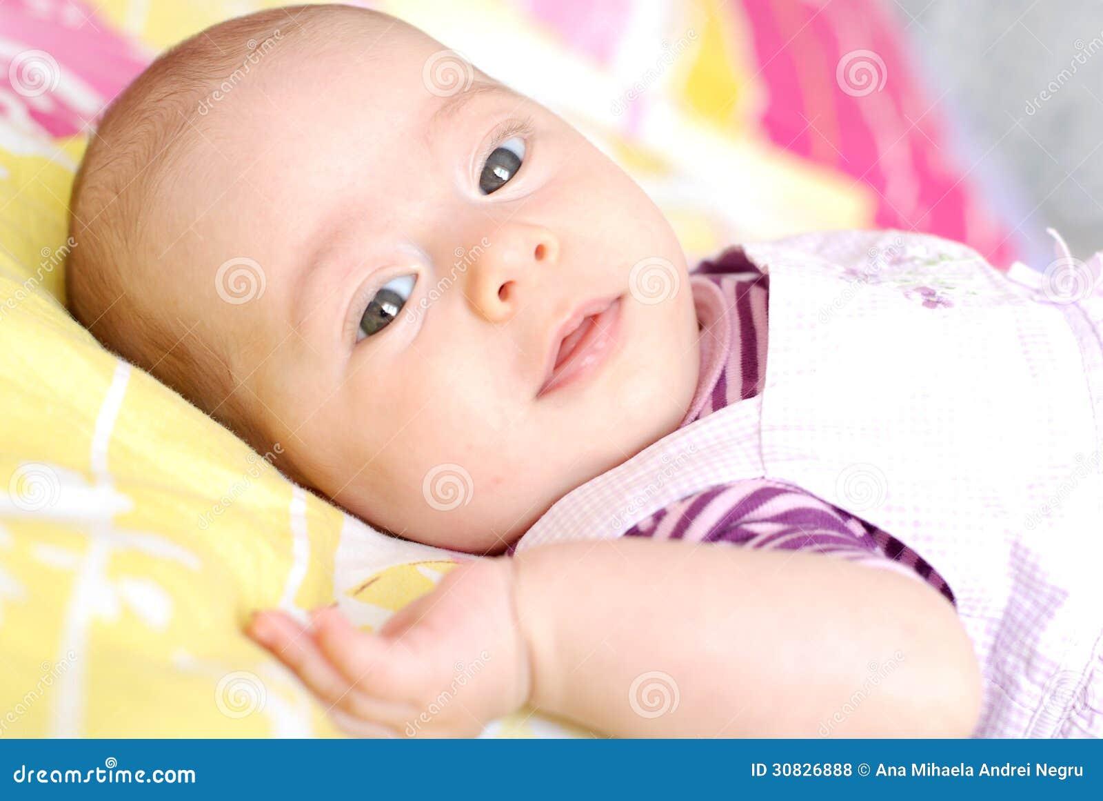 Due mesi di neonata