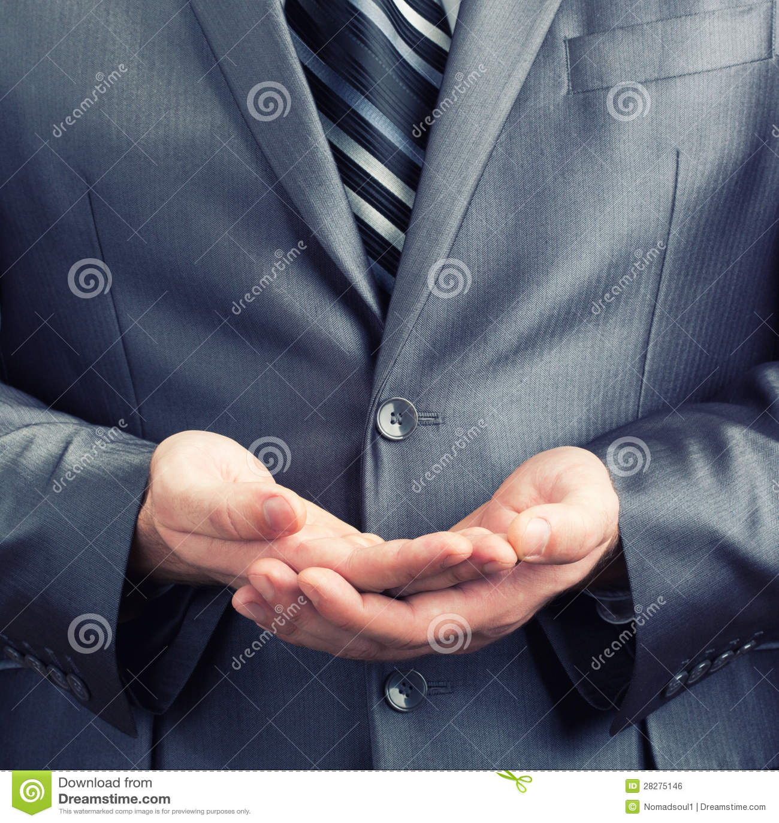 Due palme gesture insieme