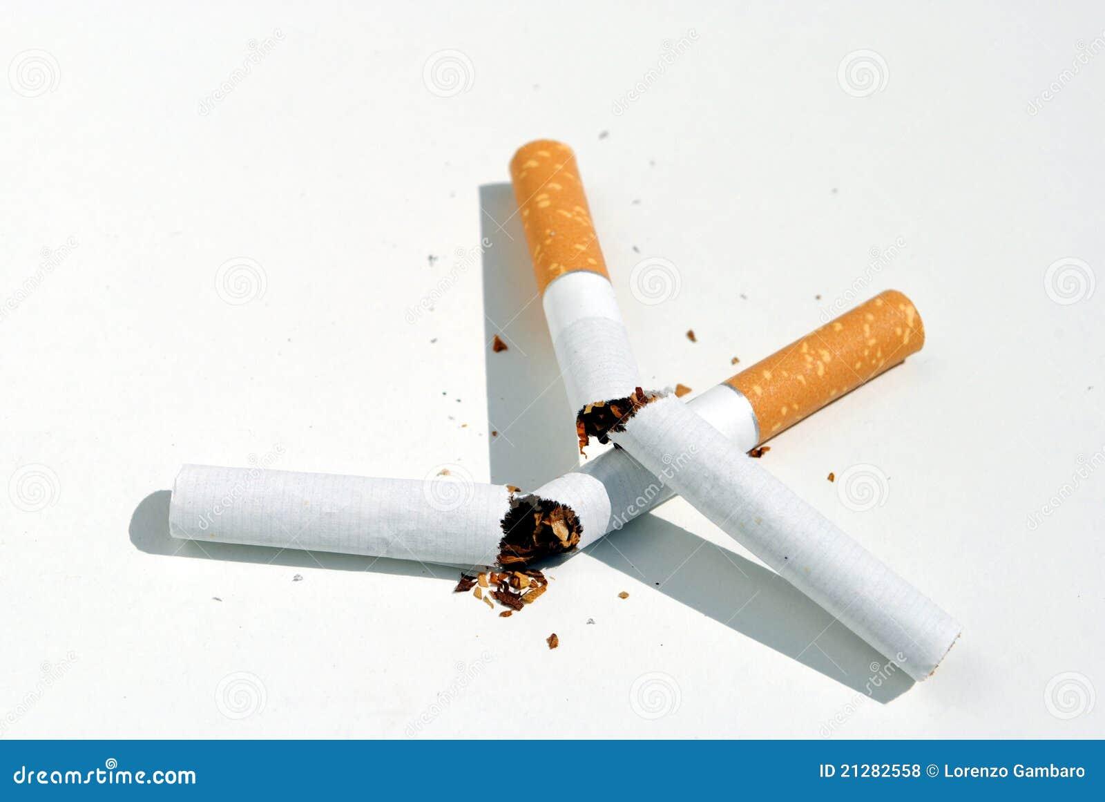 Smettere di fumare la riduzione