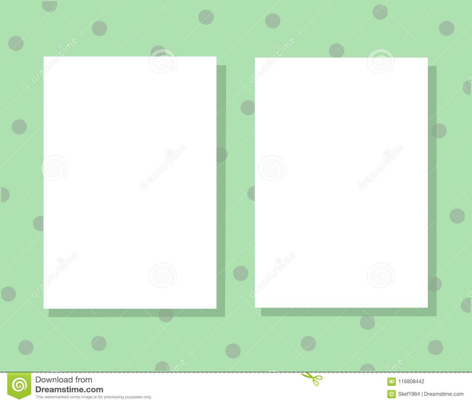 Due strati del Libro Bianco con spazio per testo