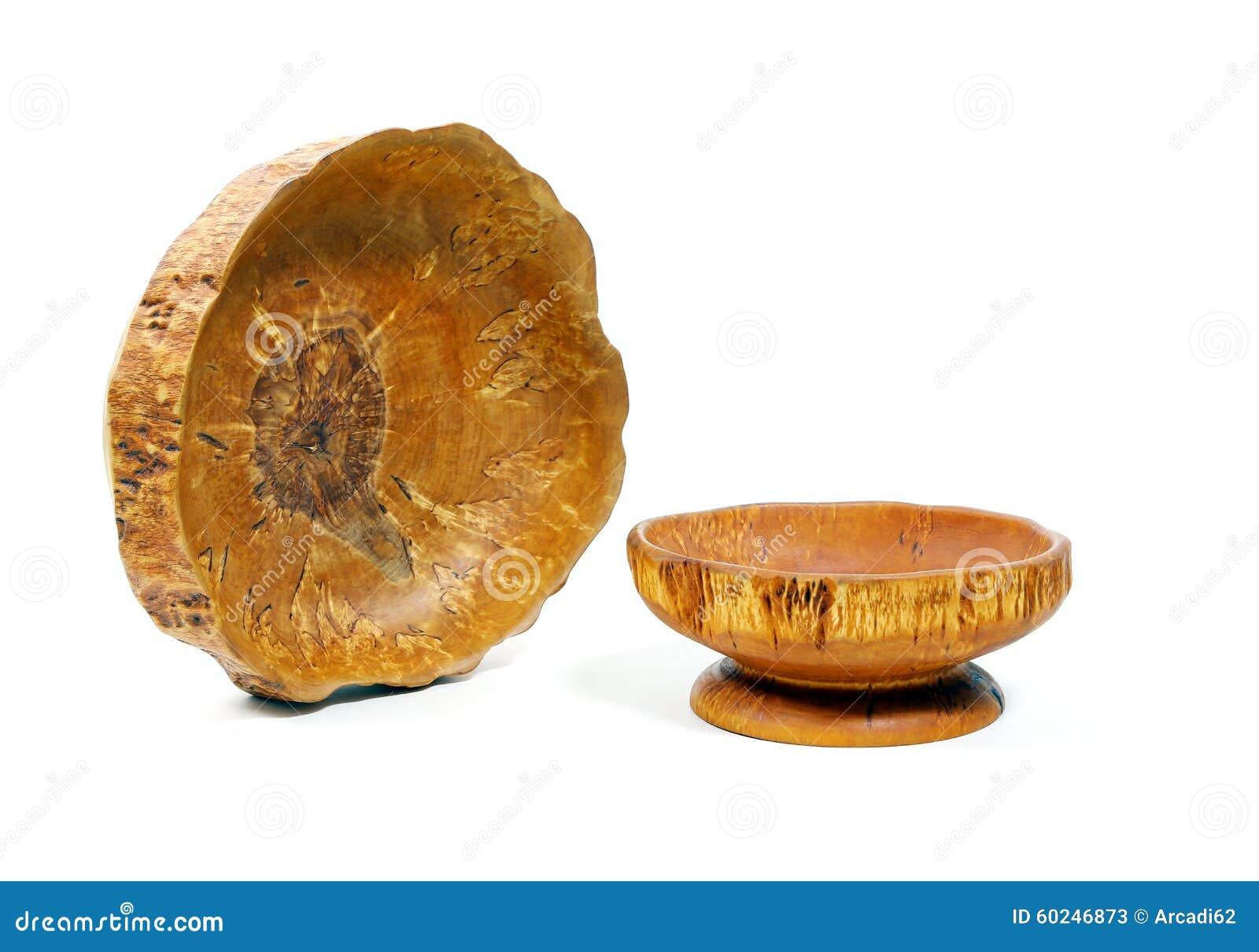 Due vasi di legno fotografia stock immagine 60246873 for Vasi di legno