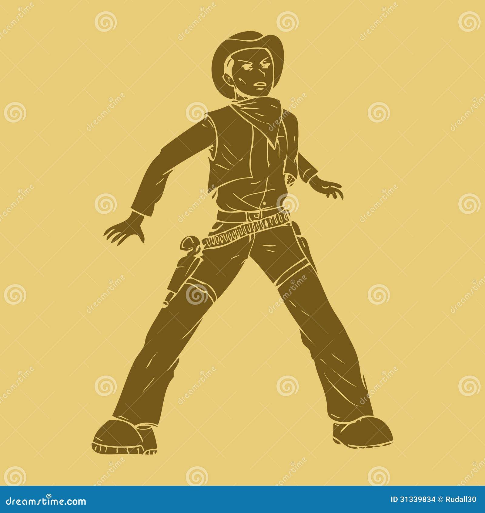 Cowboy stance