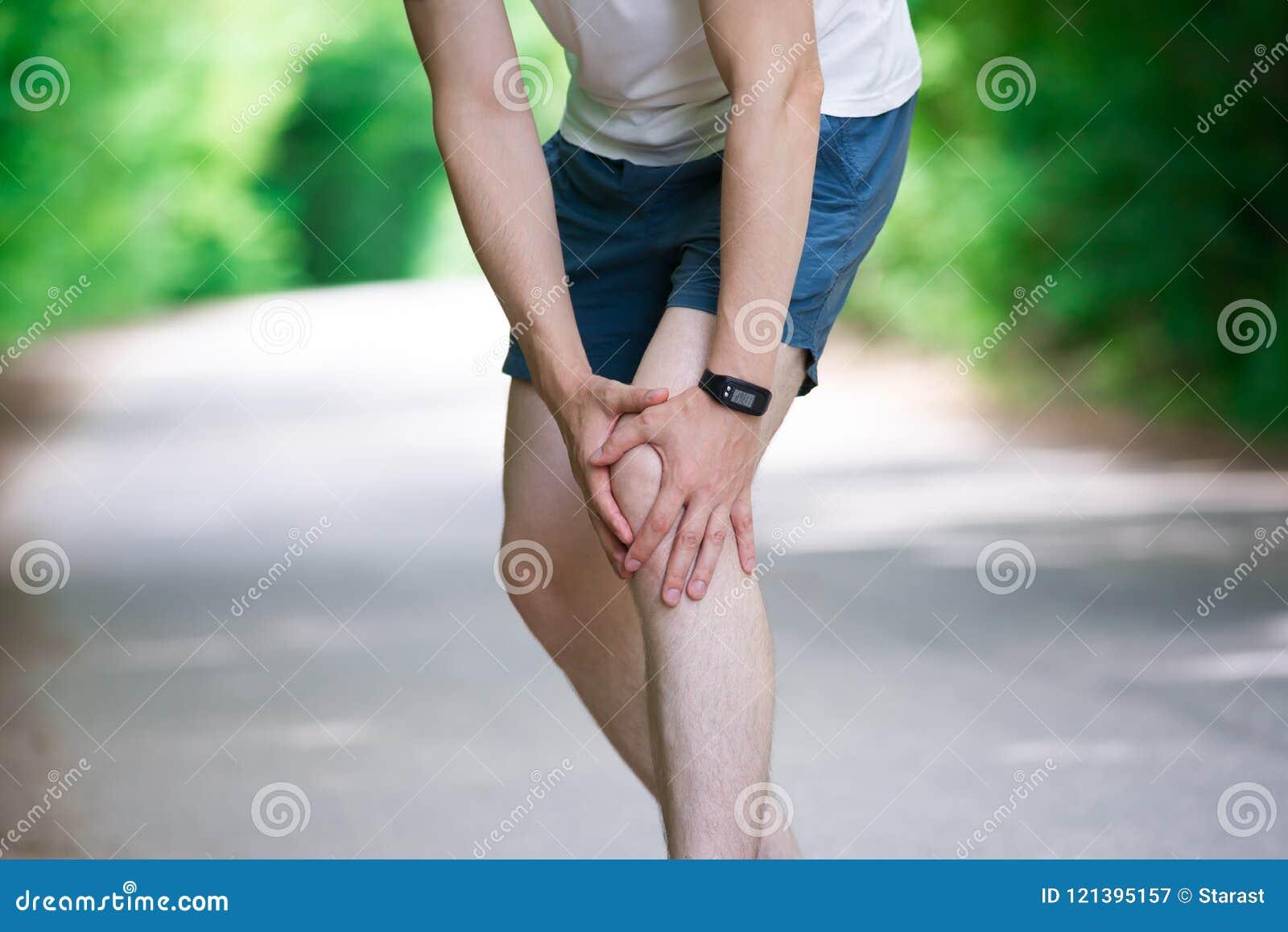 Hinchazón rodilla en pantorrilla de e dolor la