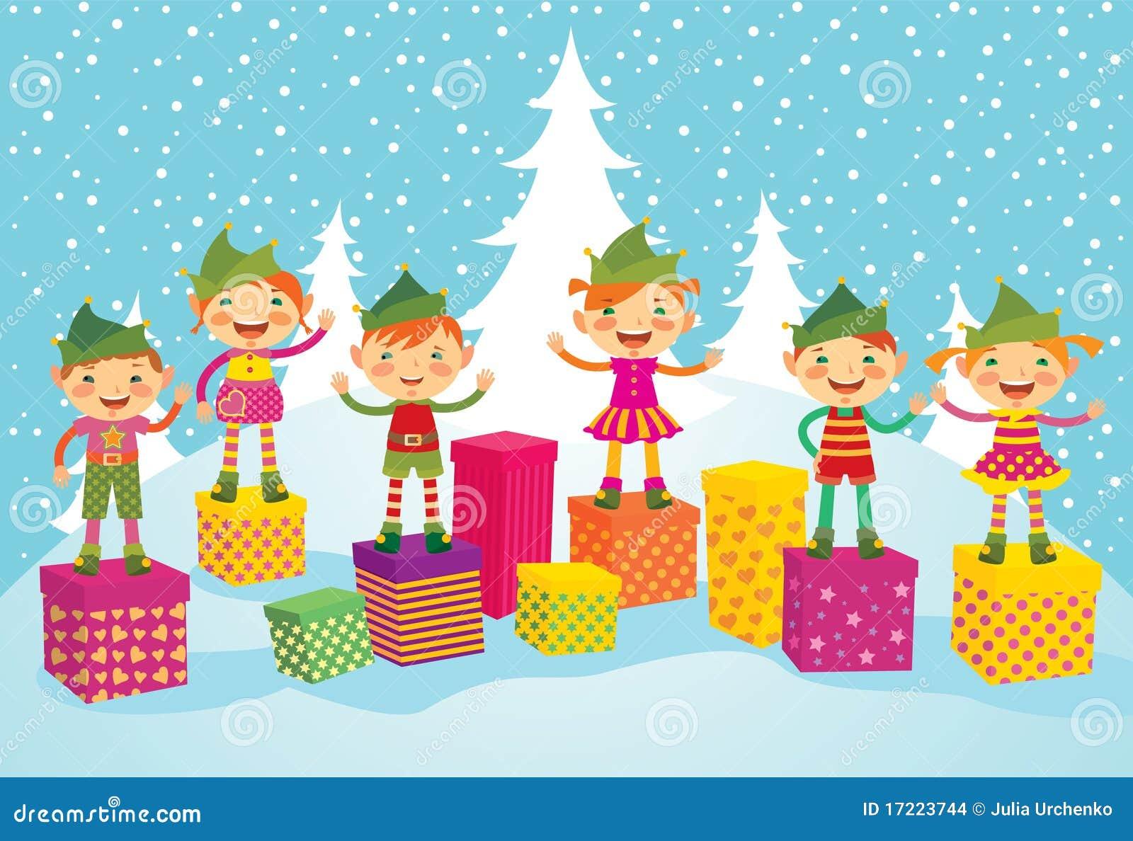 Funny Merry Christmas Elf