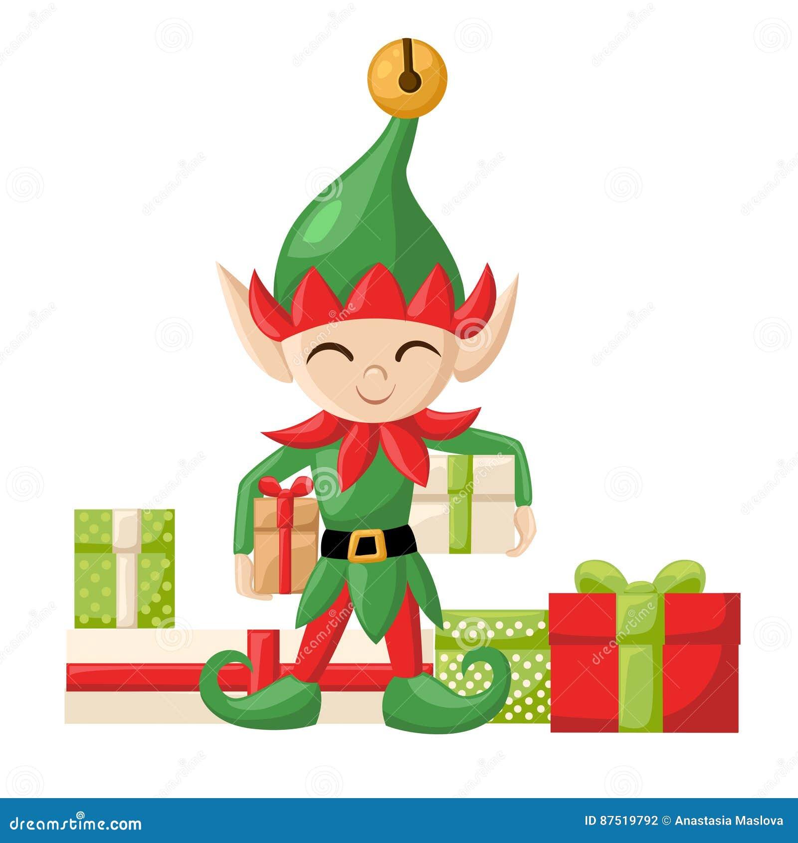 Duendes De Santa Claus Santa S Del Duende Que Se Preparan Para La ...