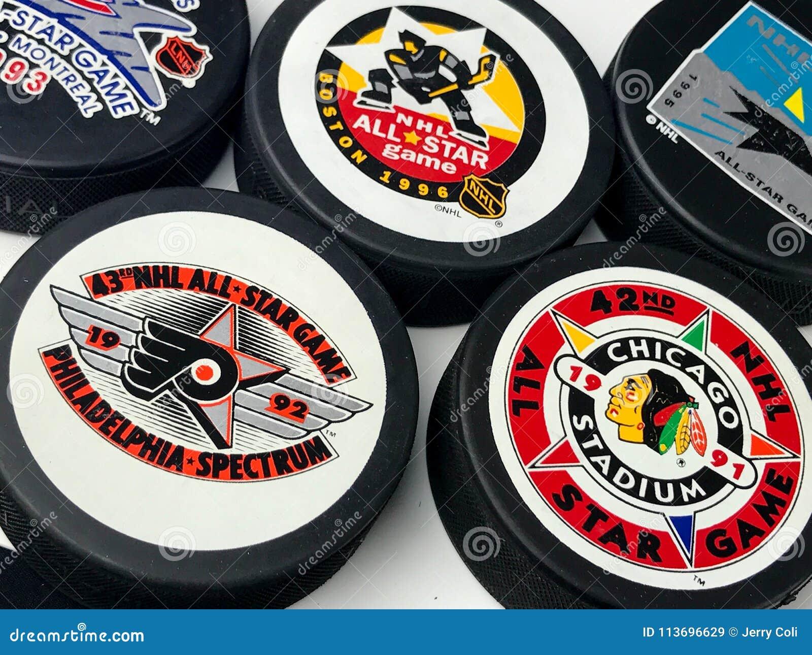 Duendes maliciosos All-star del NHL del vintage