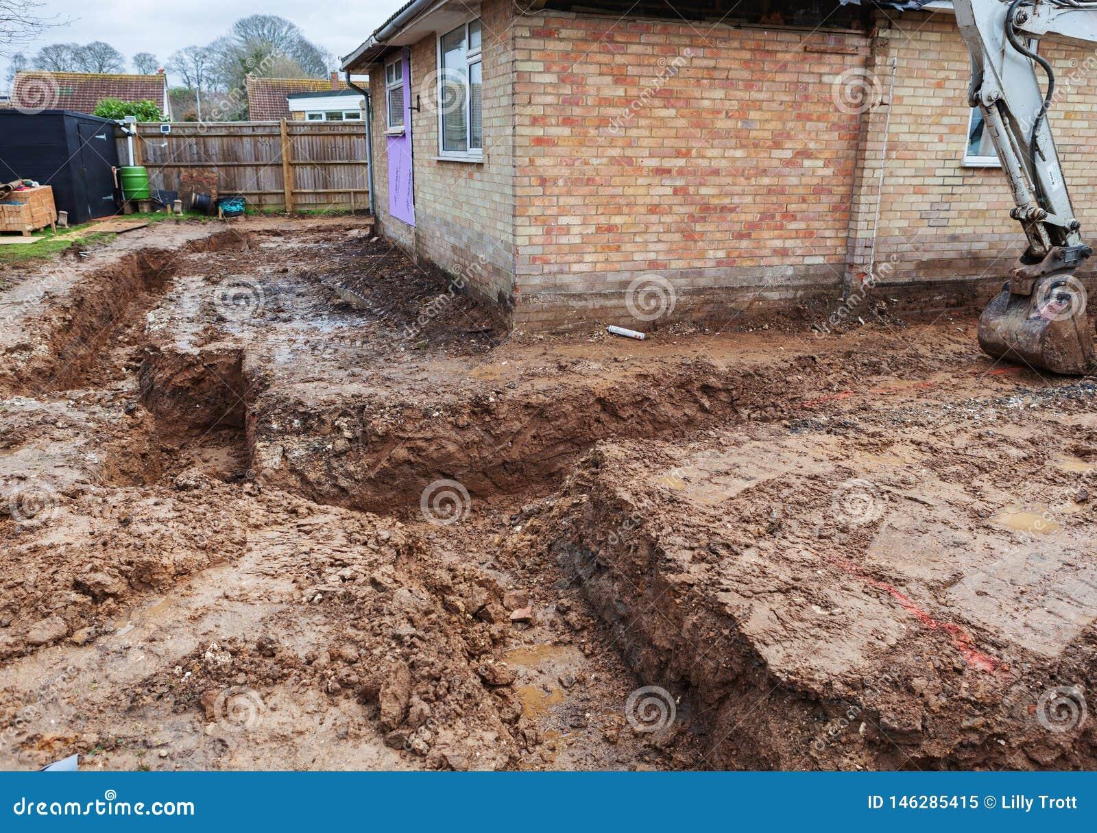 Dug foundations