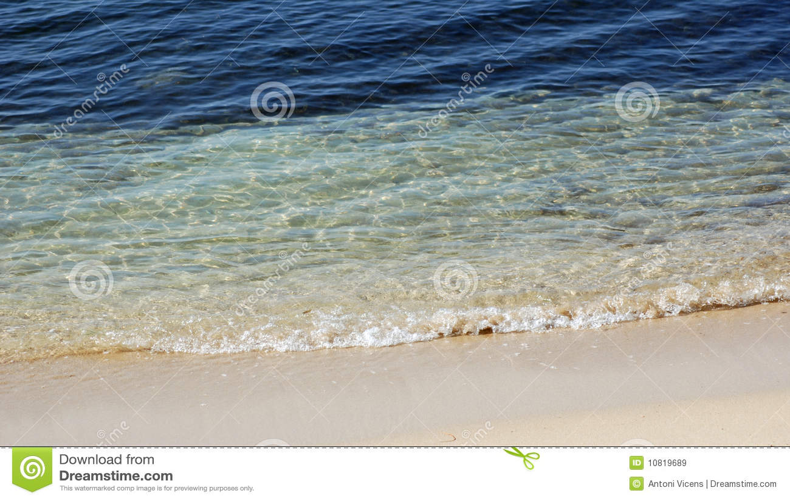 Duidelijk strand