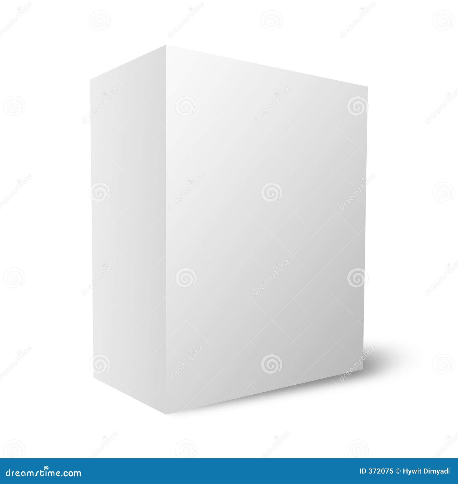 Duidelijke lege doos (12Mb)