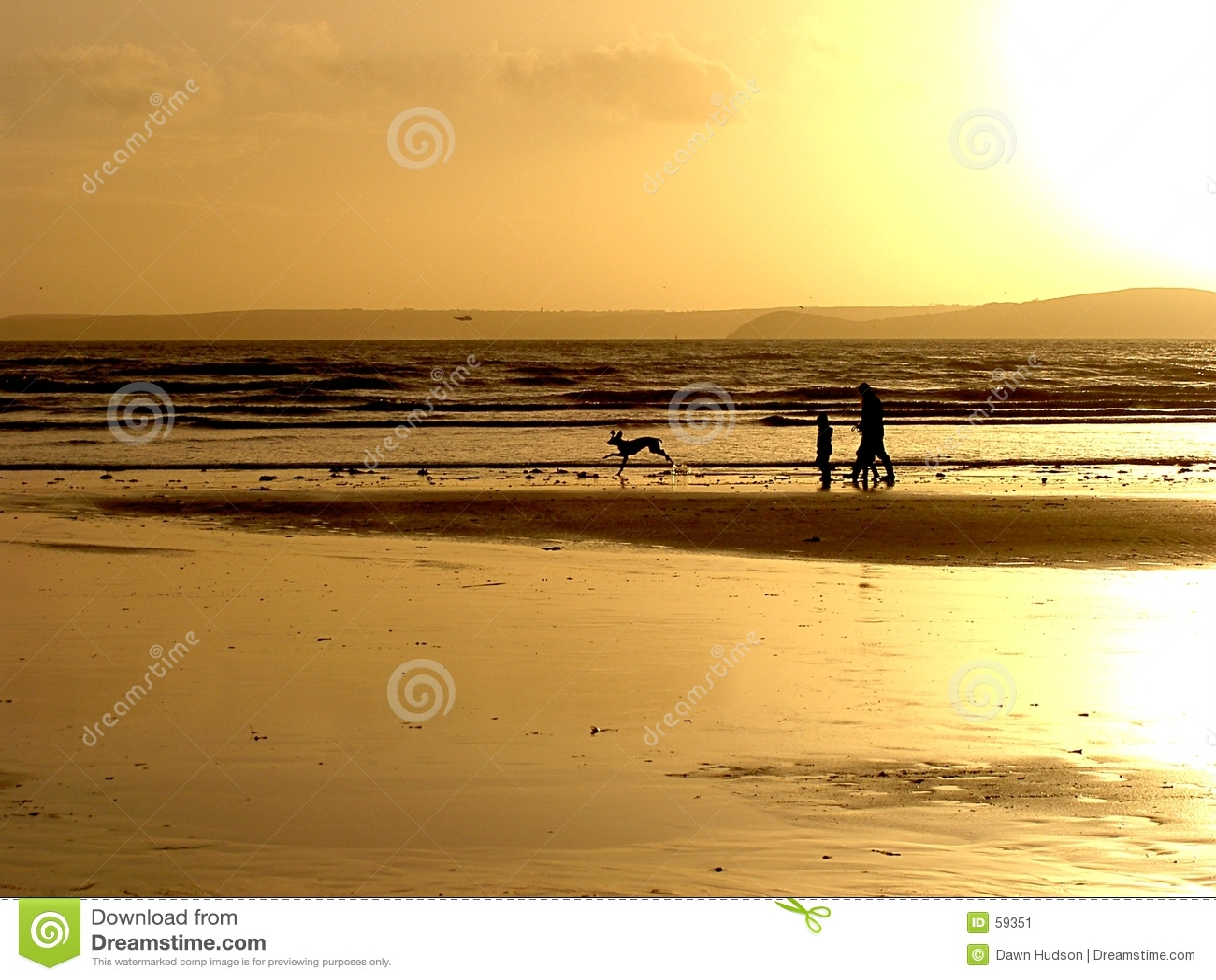 Duister Strand