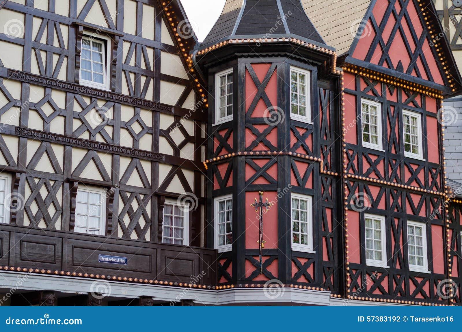 Duits middeleeuws huis