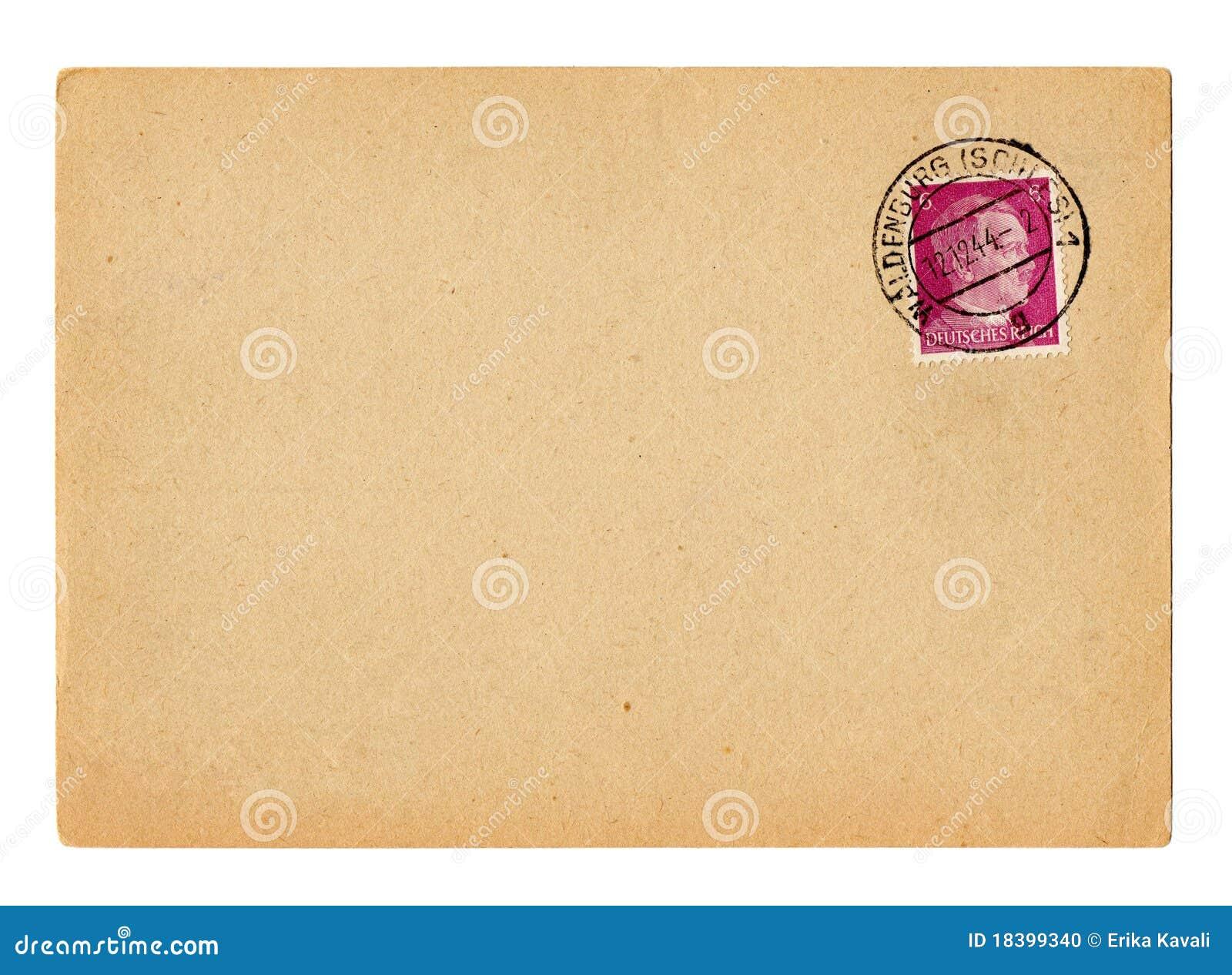 Duitse het Duitse Rijkprentbriefkaar Hitler