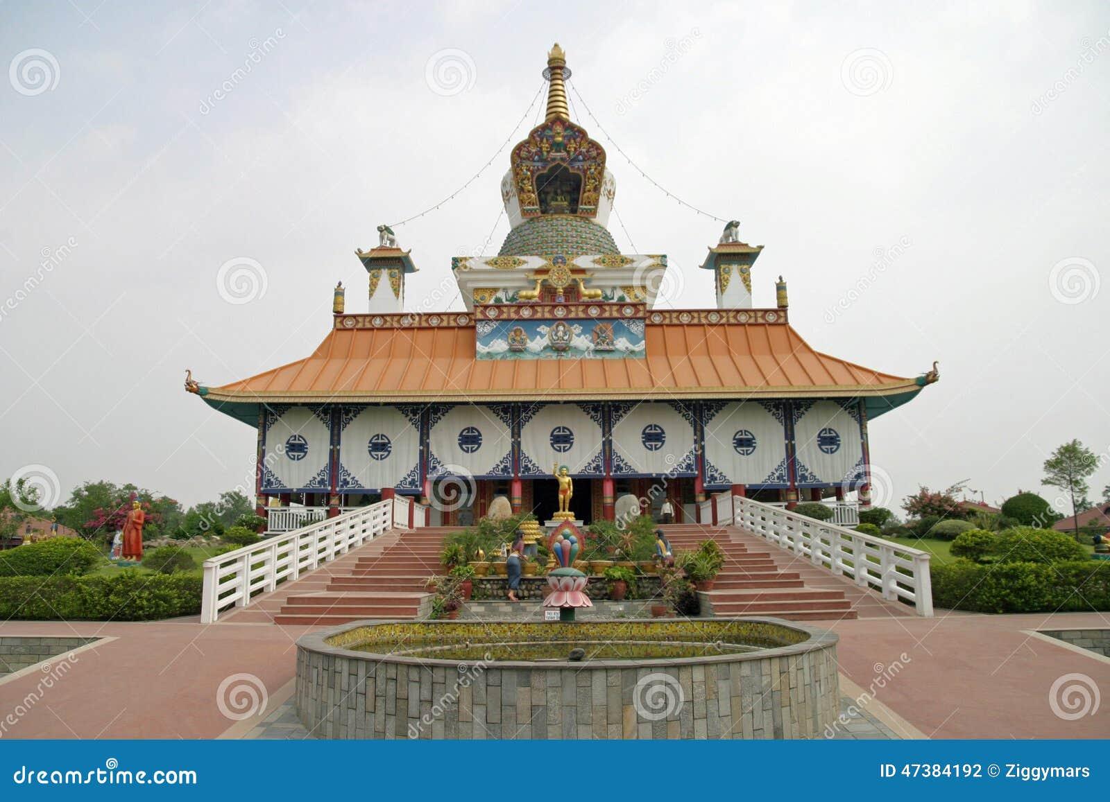 Duitse tempel in Lumbini