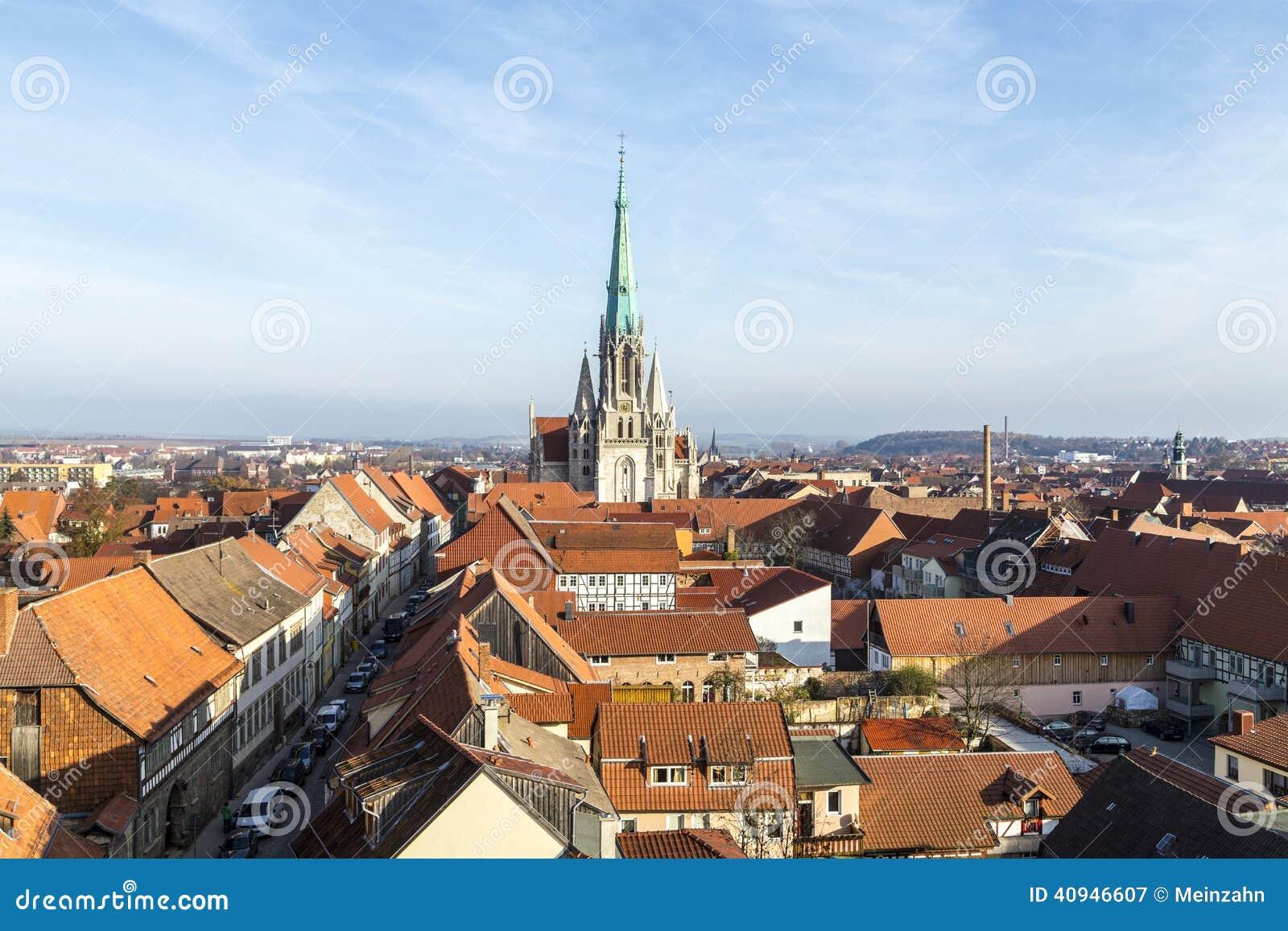 Duitsland, Thuringia, Muhlhausen,