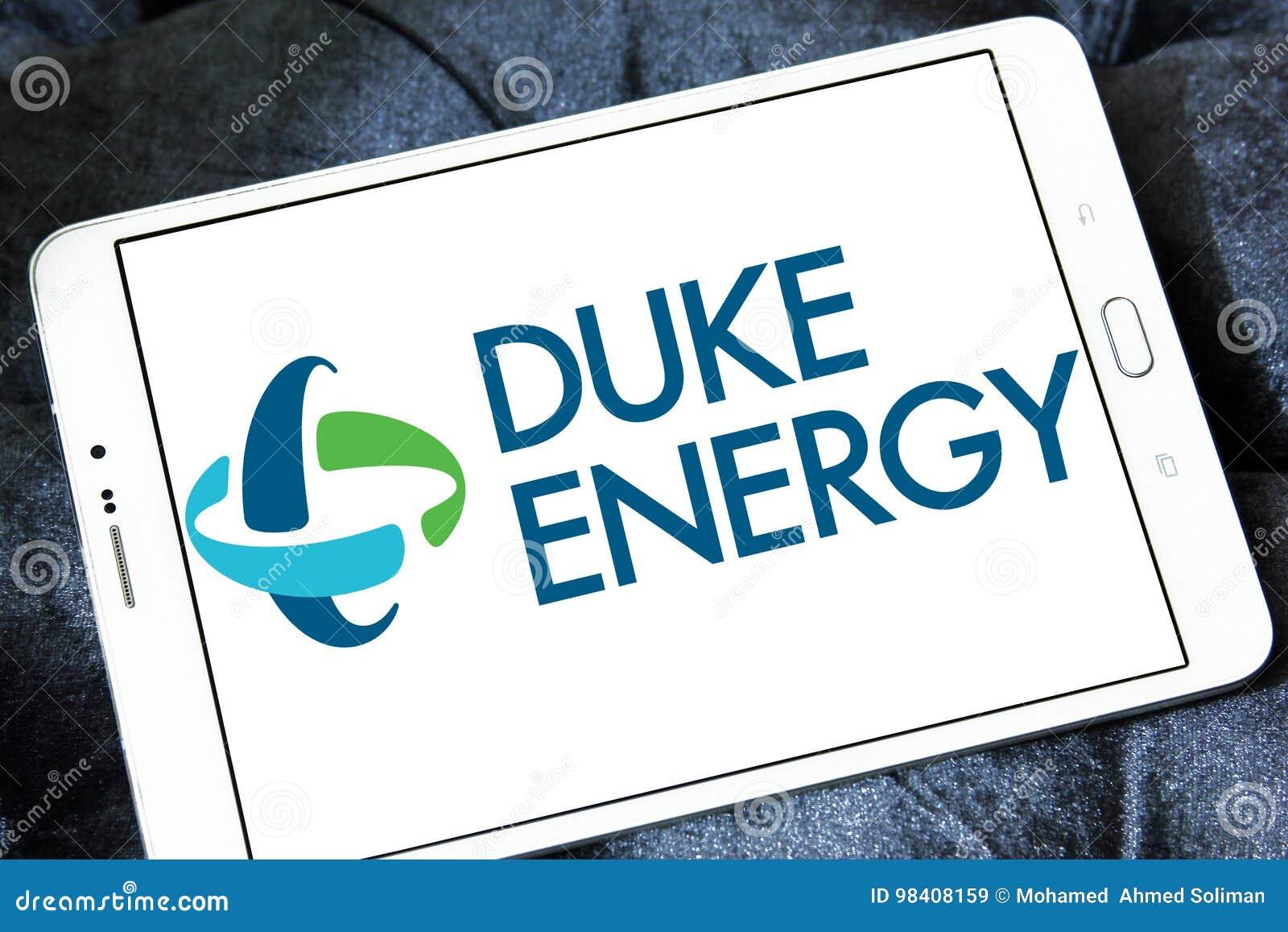 Duke energy company logo editorial stock image  Image of
