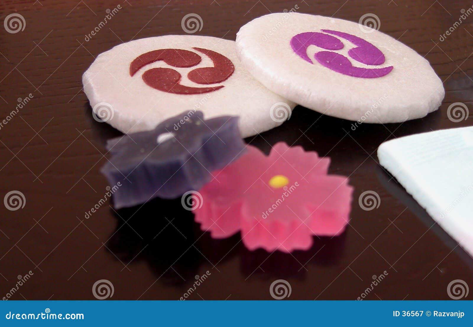 Download Dulces japoneses imagen de archivo. Imagen de dulce, gusto - 36567