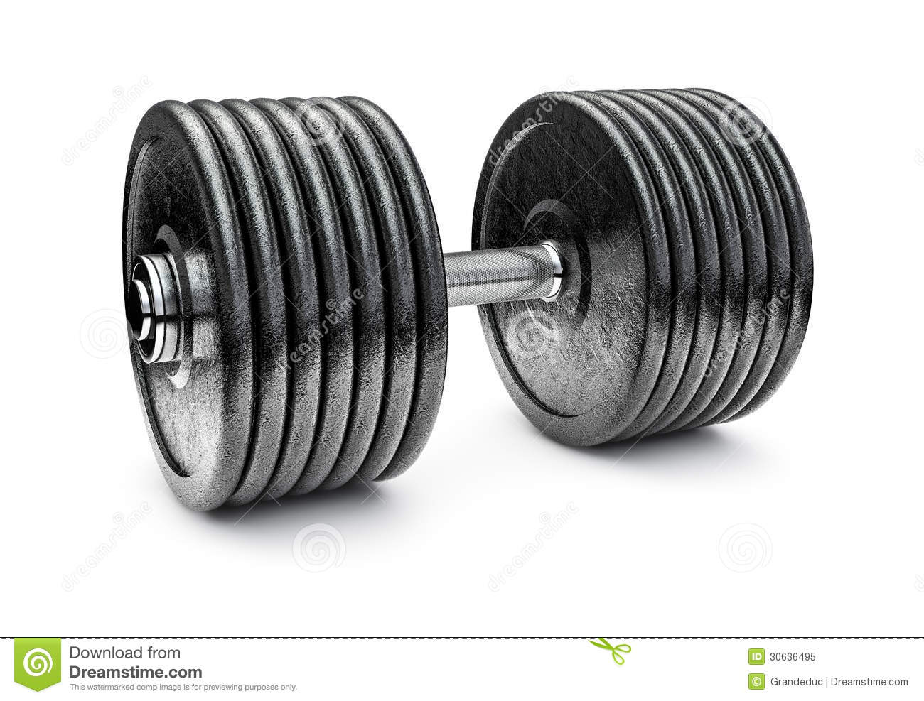 Dumbbell Royalty Free Stock Photo - Image: 30636495