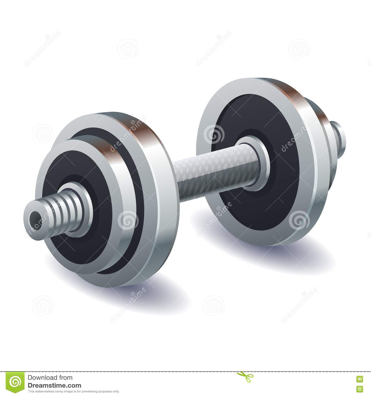 Dumbbell Royalty Free Stock Photography Image 35037527