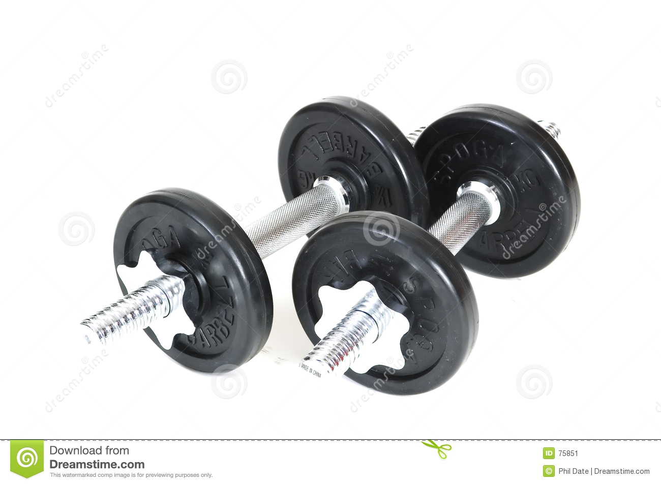 Dumbbells isolados