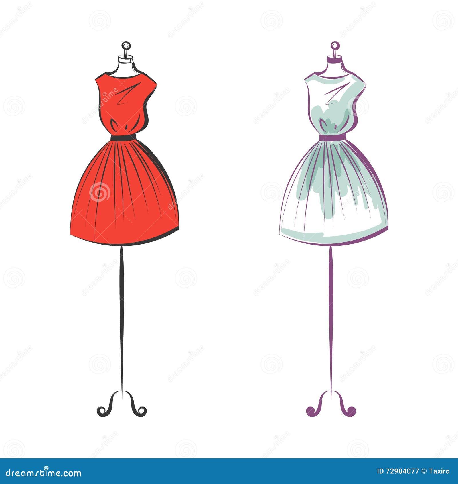 how to make a dress dummy