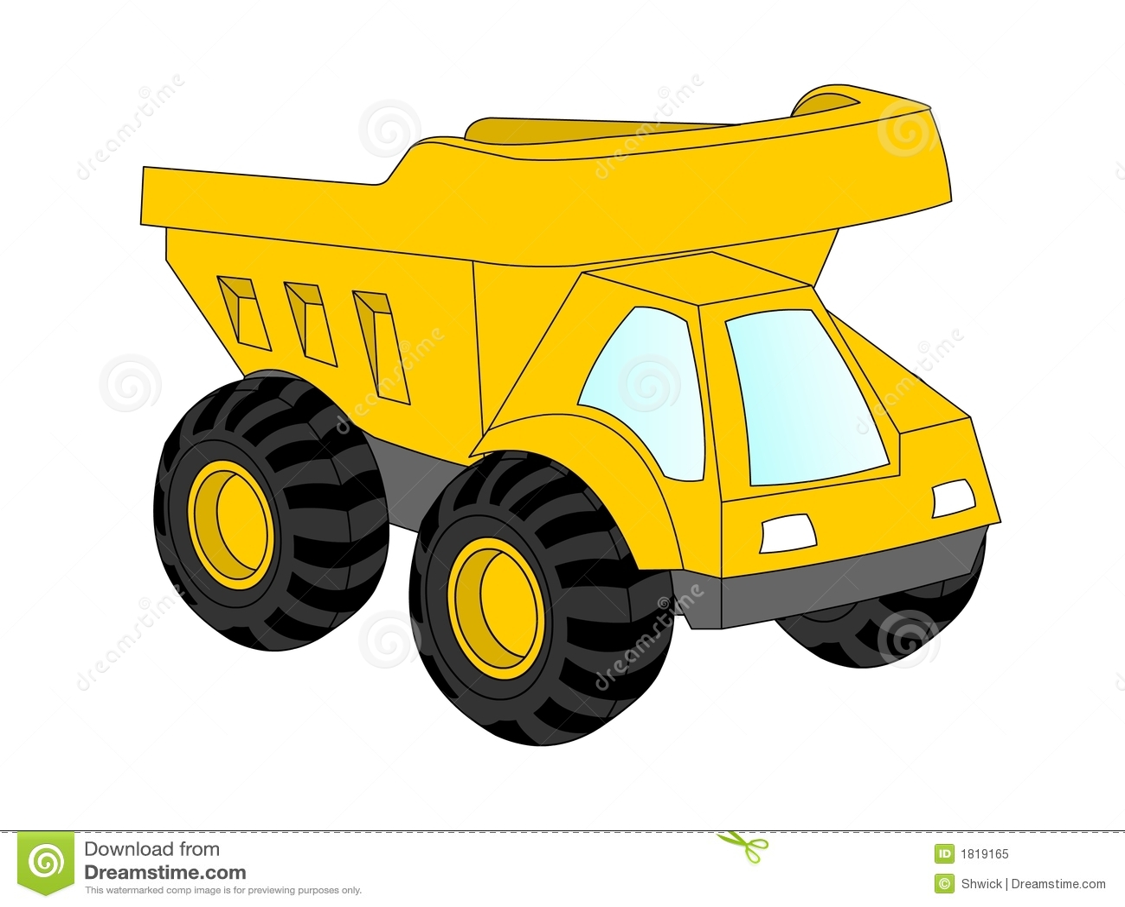 yellow truck clipart - photo #27