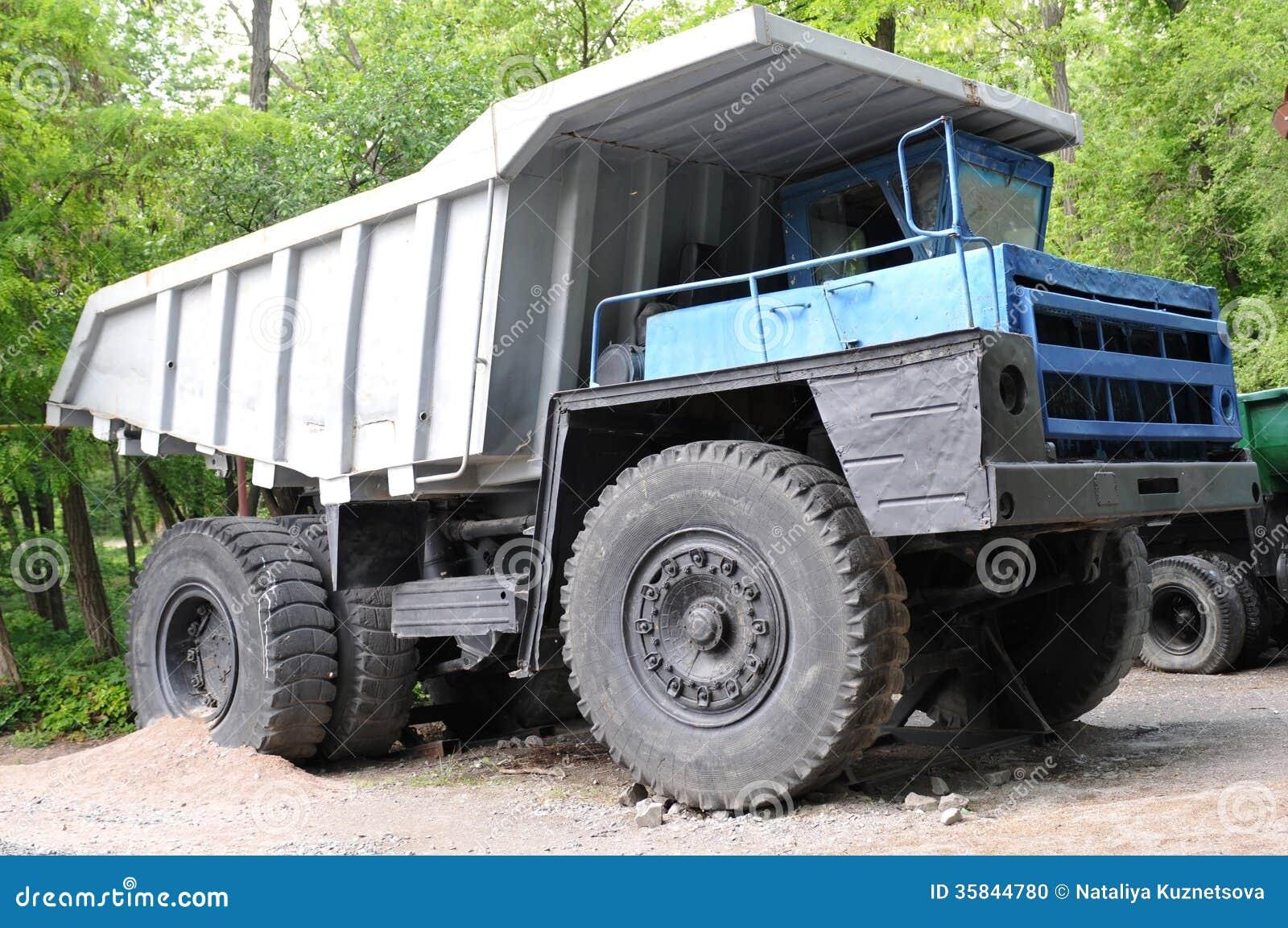Dump Truck Stock Photo Image 35844780