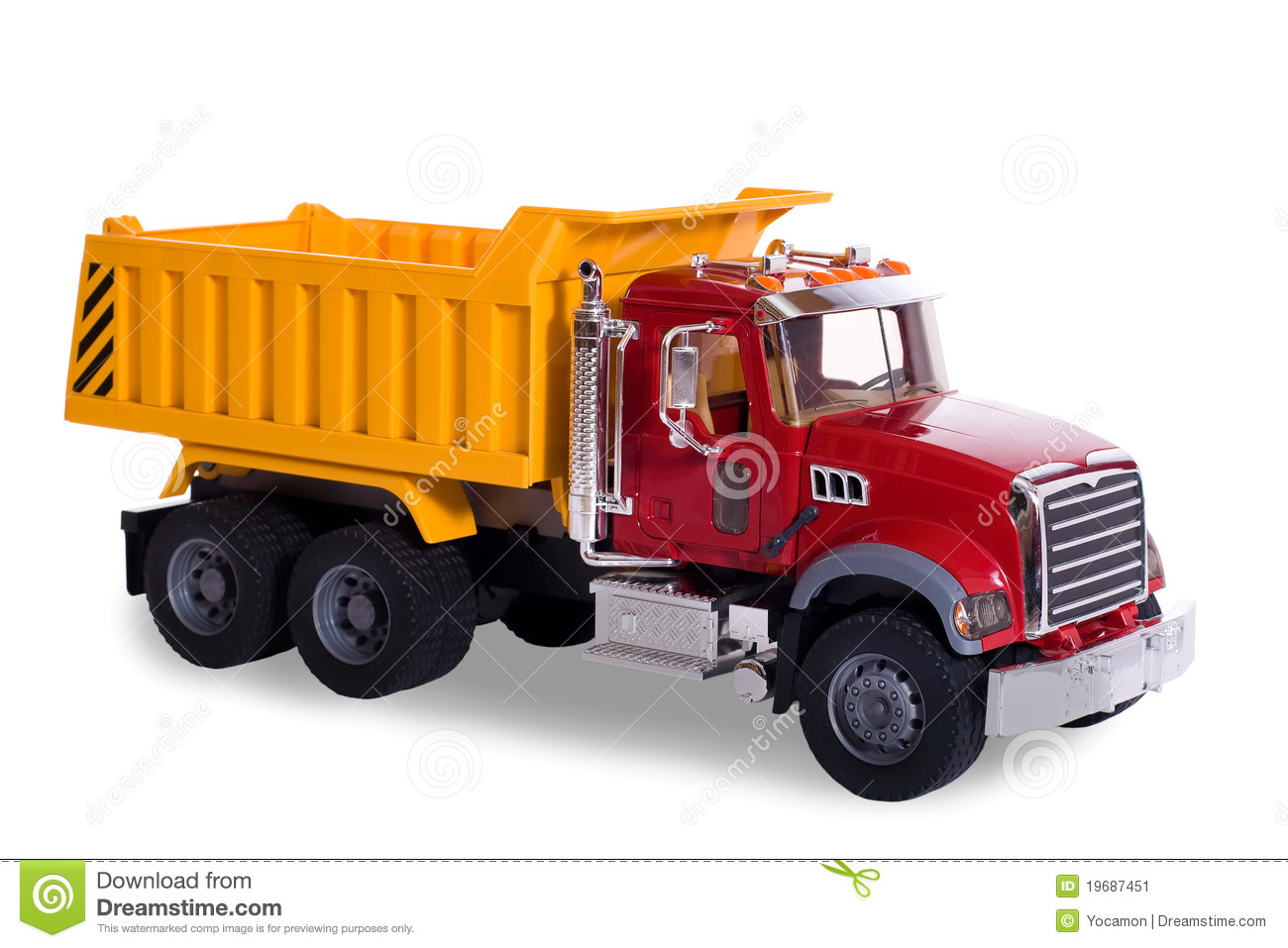 toy dump truck royalty free stock photography image 32758797