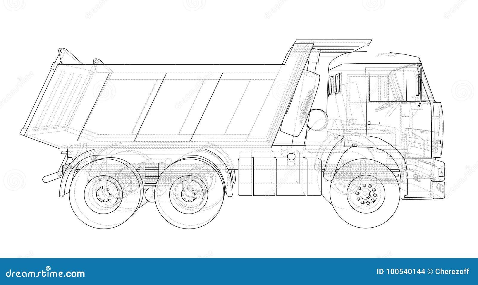 Dump truck Vettore