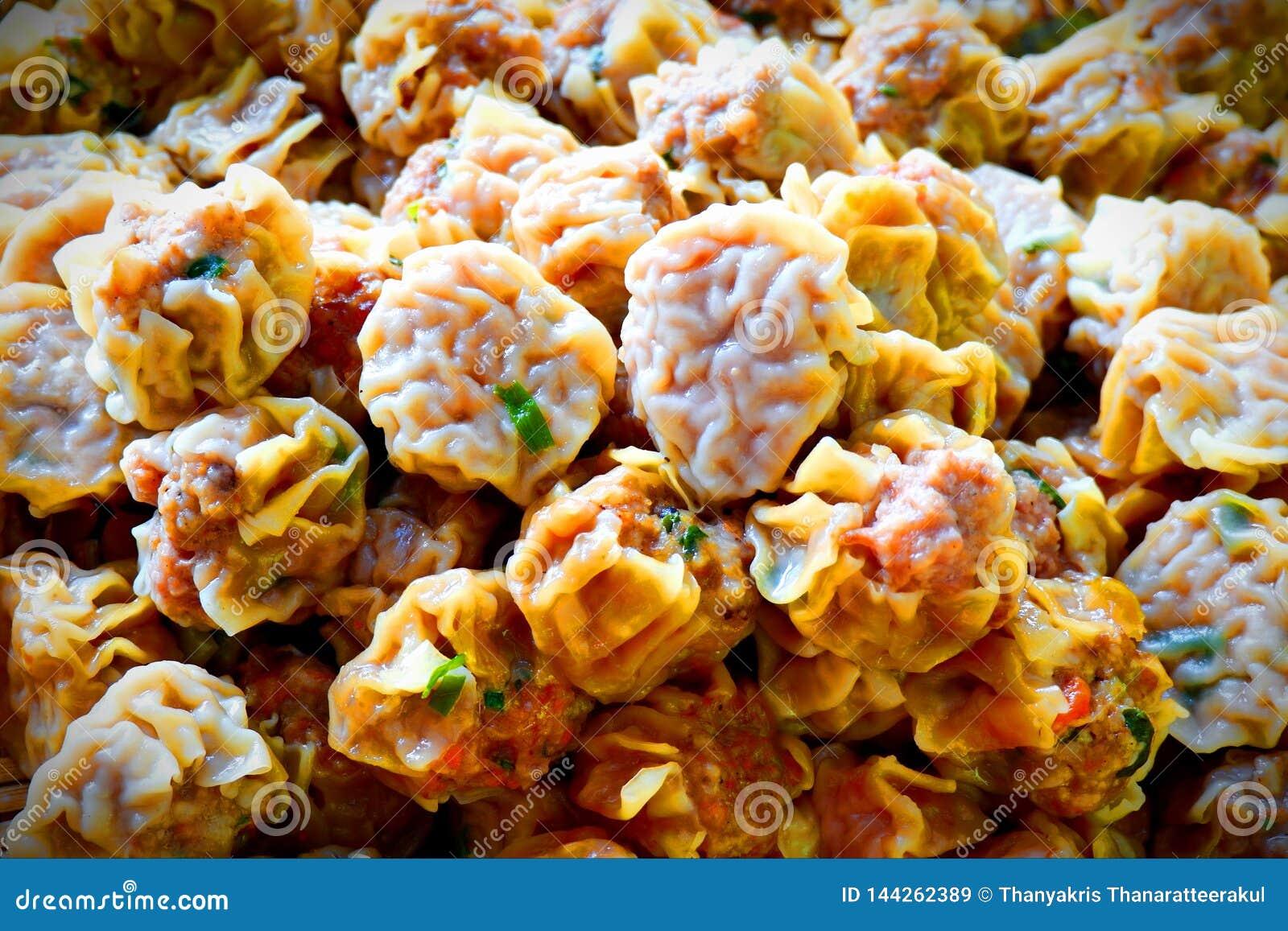 Dumpling food from China.