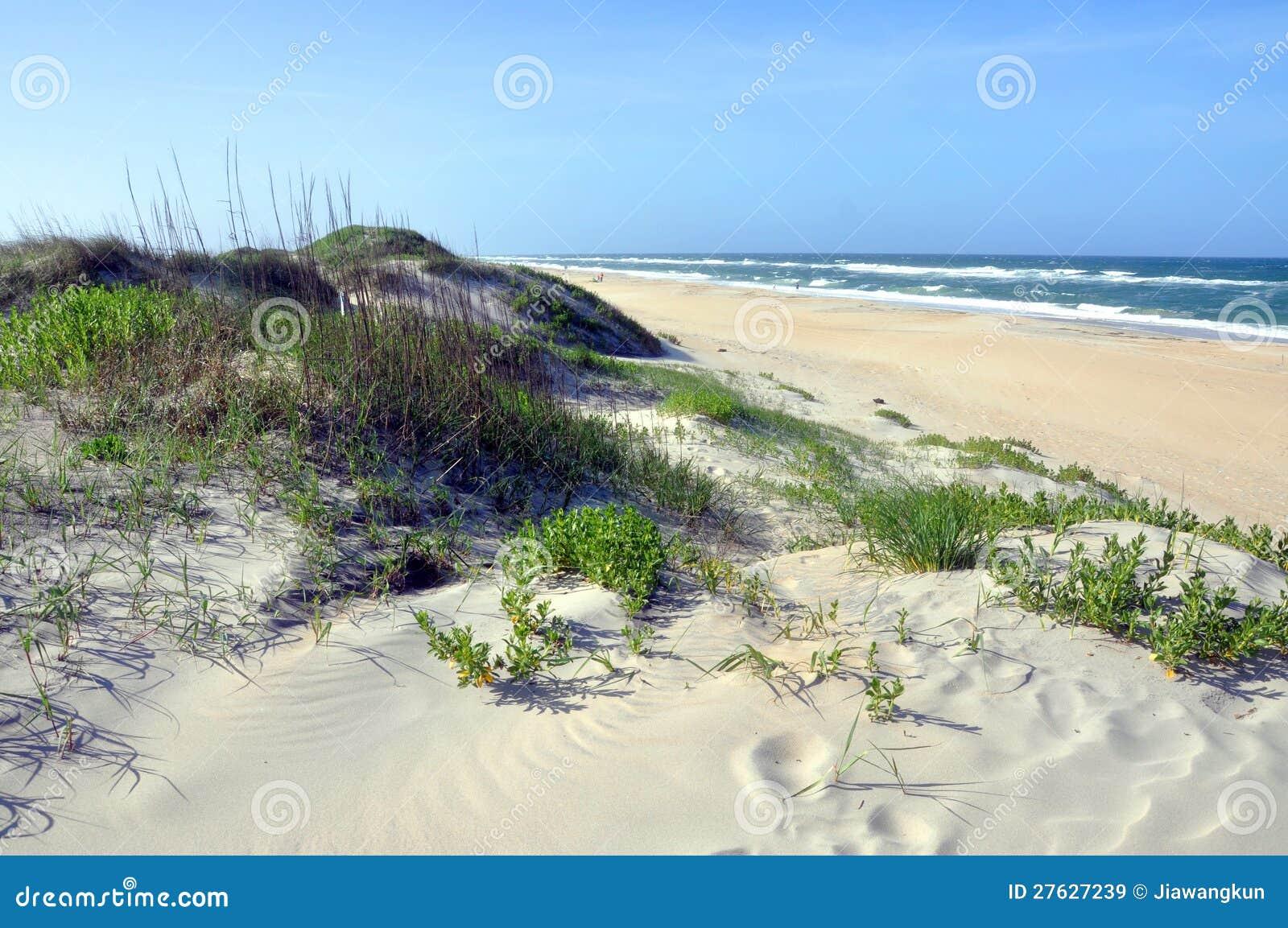 Duna di sabbia in capo hatteras north carolina immagini for Cabina lago north carolina