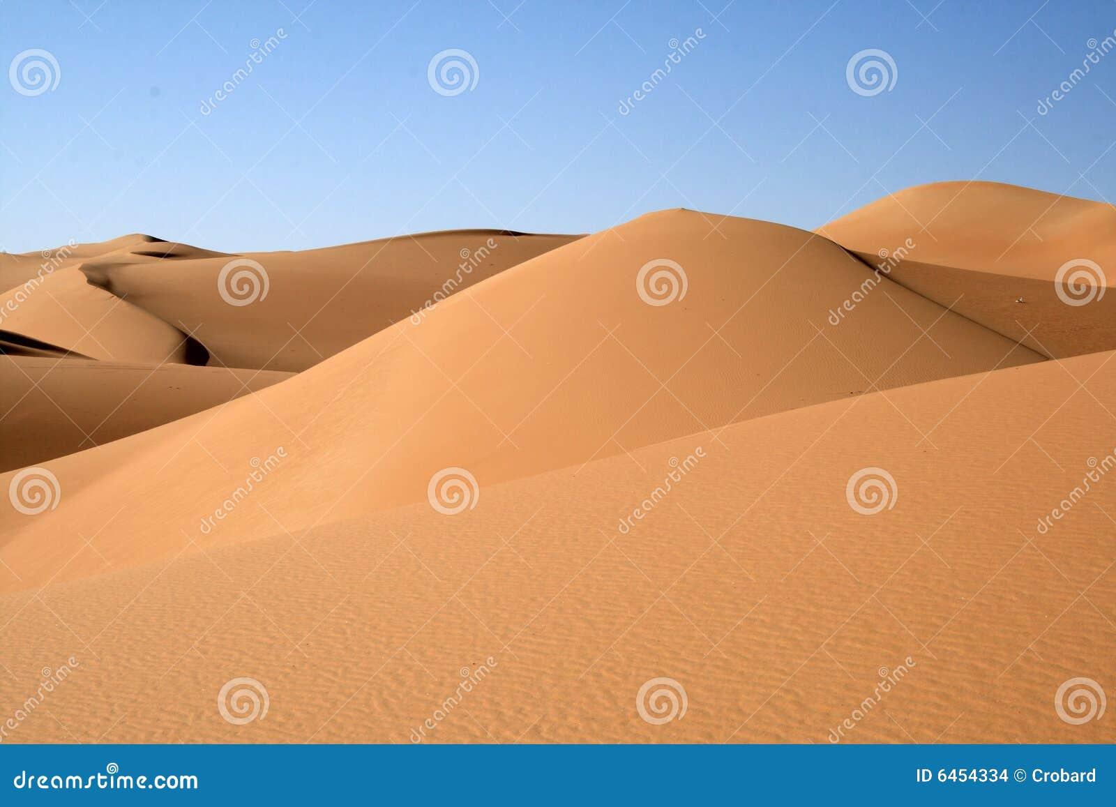 Duna do deserto de Sahara