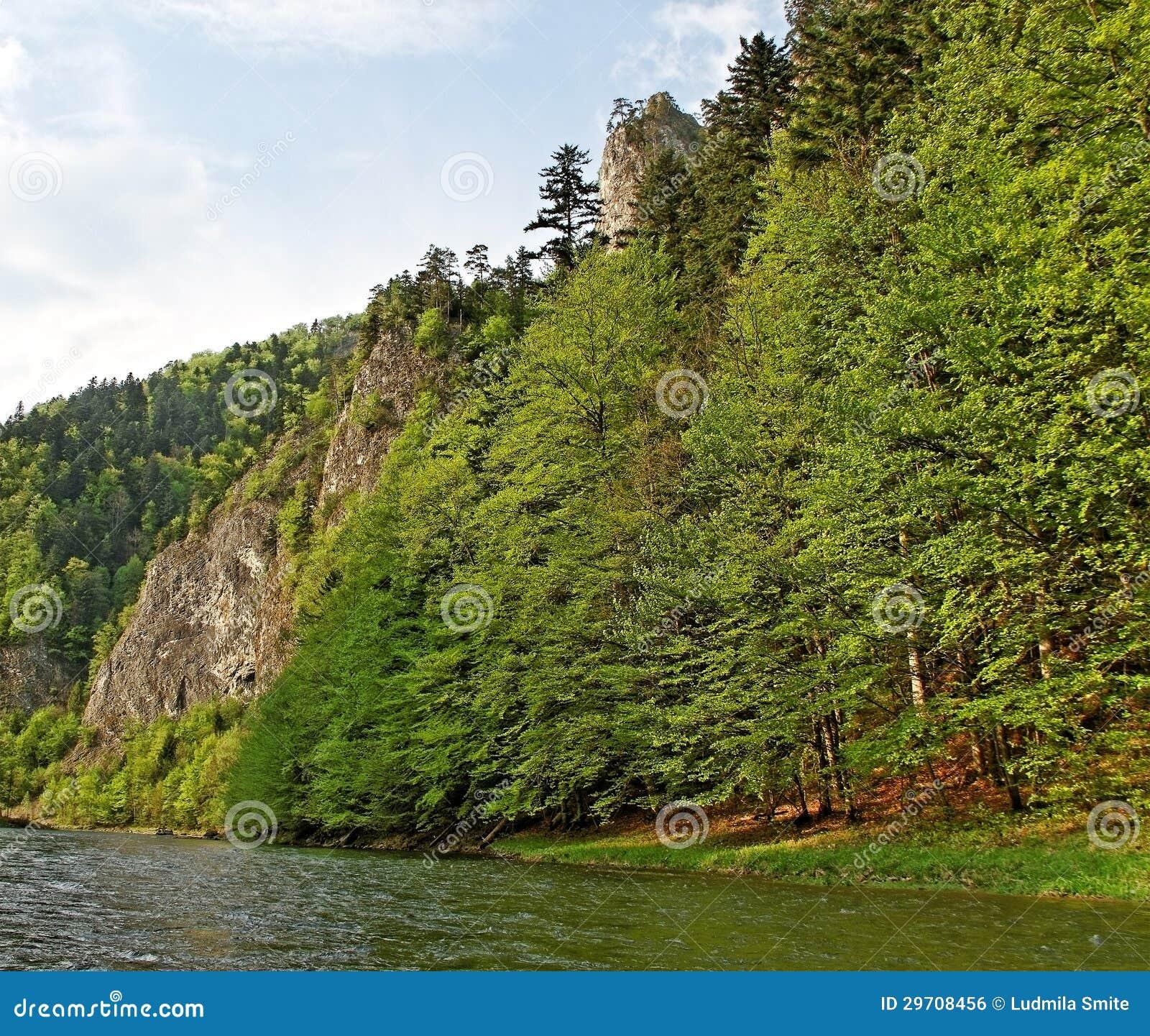 River Dunajec.
