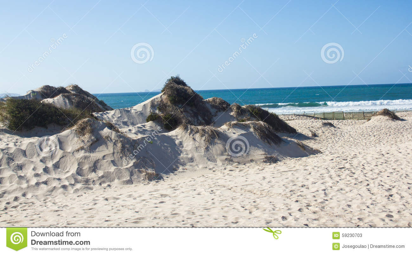 Download Dunas De Arena Naturales, Viejas Y Protegidas En La Costa Occidental Atlántica De Portugal, Peniche, Baleal Imagen de archivo - Imagen de paisaje, protegido: 59230703