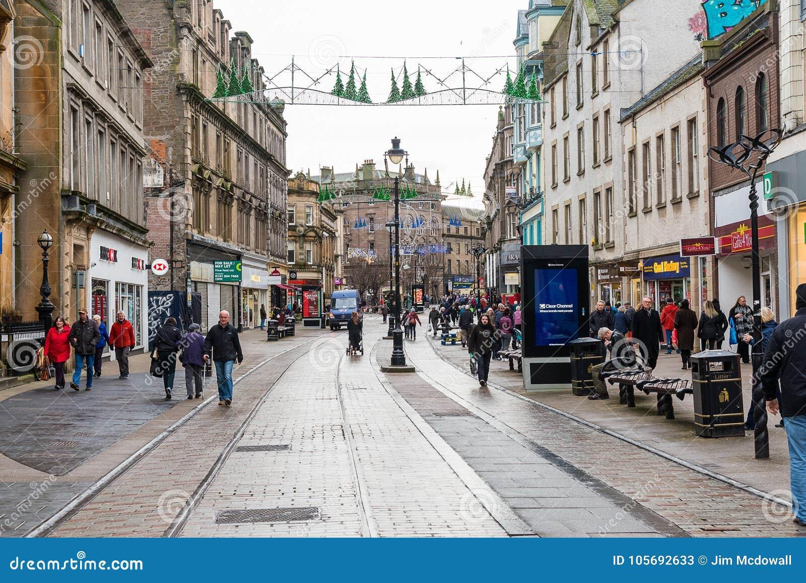 Shopping Centre Dundee City Editorial Stock Photo - Image of bridge ...