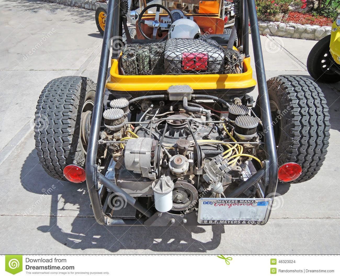 Dune Buggy Engine Stock Photo Image Of Dune Road Glamis