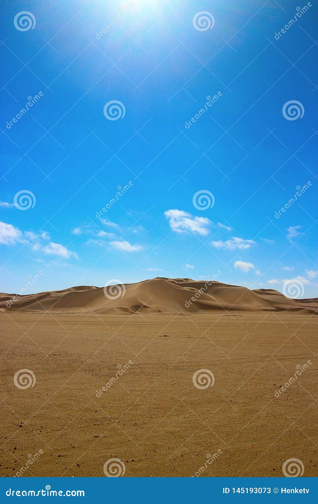 Dune dans le d?sert de namib Afrique