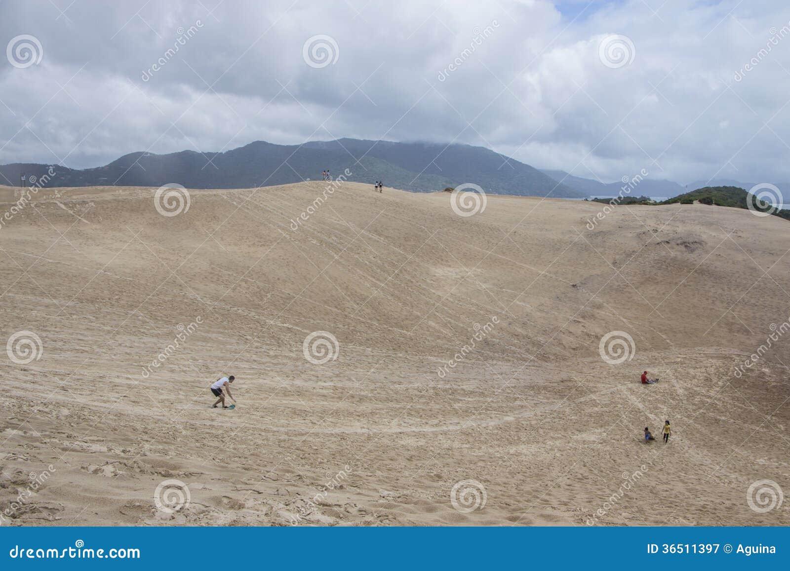 Dunes de Joaquina - Florianópolis/SC - le Brésil