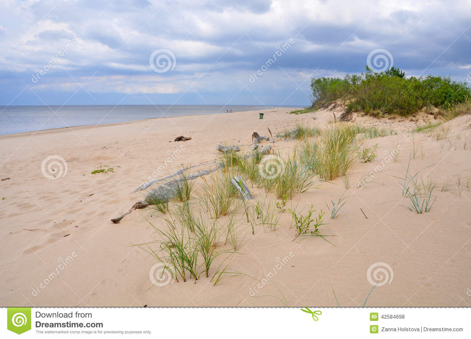 Dunes, Saulkrasti, mer baltique, Lettonie