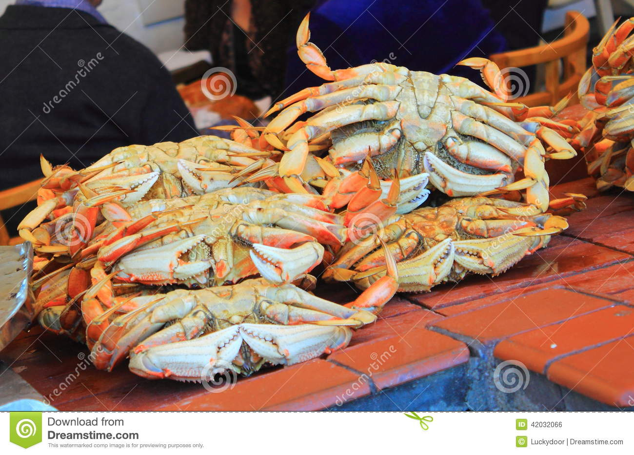 Dungeness crab stock photo image of fisherman gourmet for Fish market san francisco