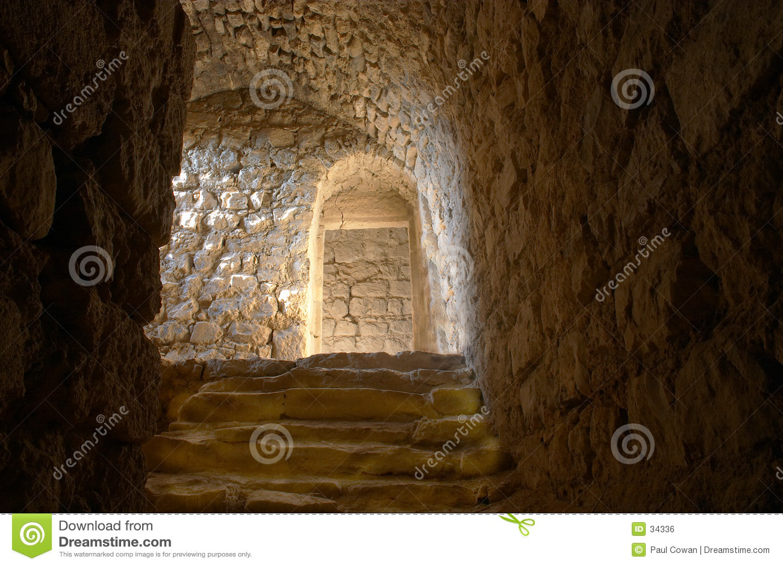 Dungeon steps