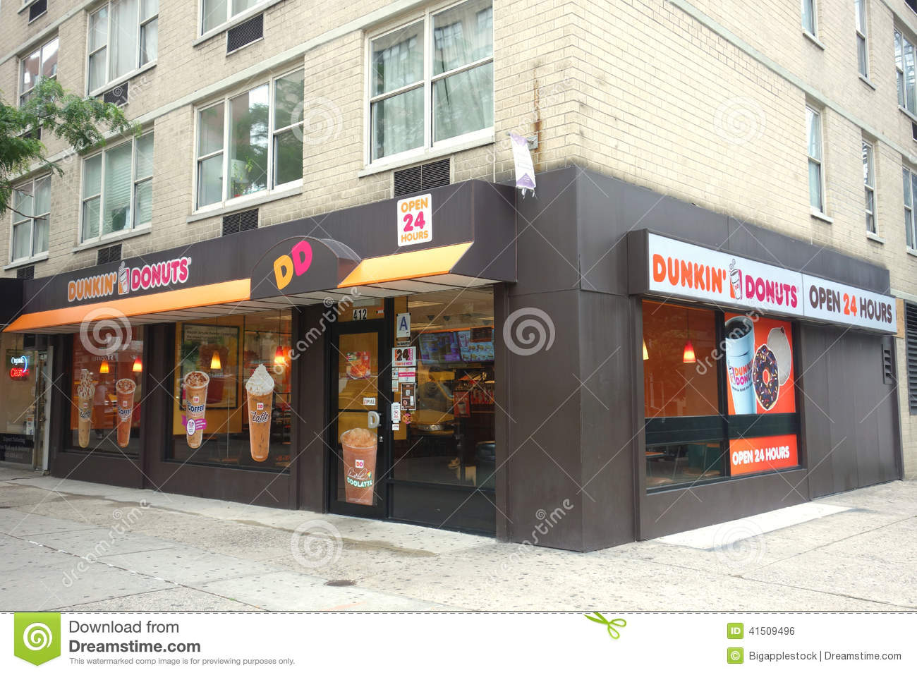 Dunkin Donuts Store Editorial Stock Image Image - Dunkin donuts location map usa