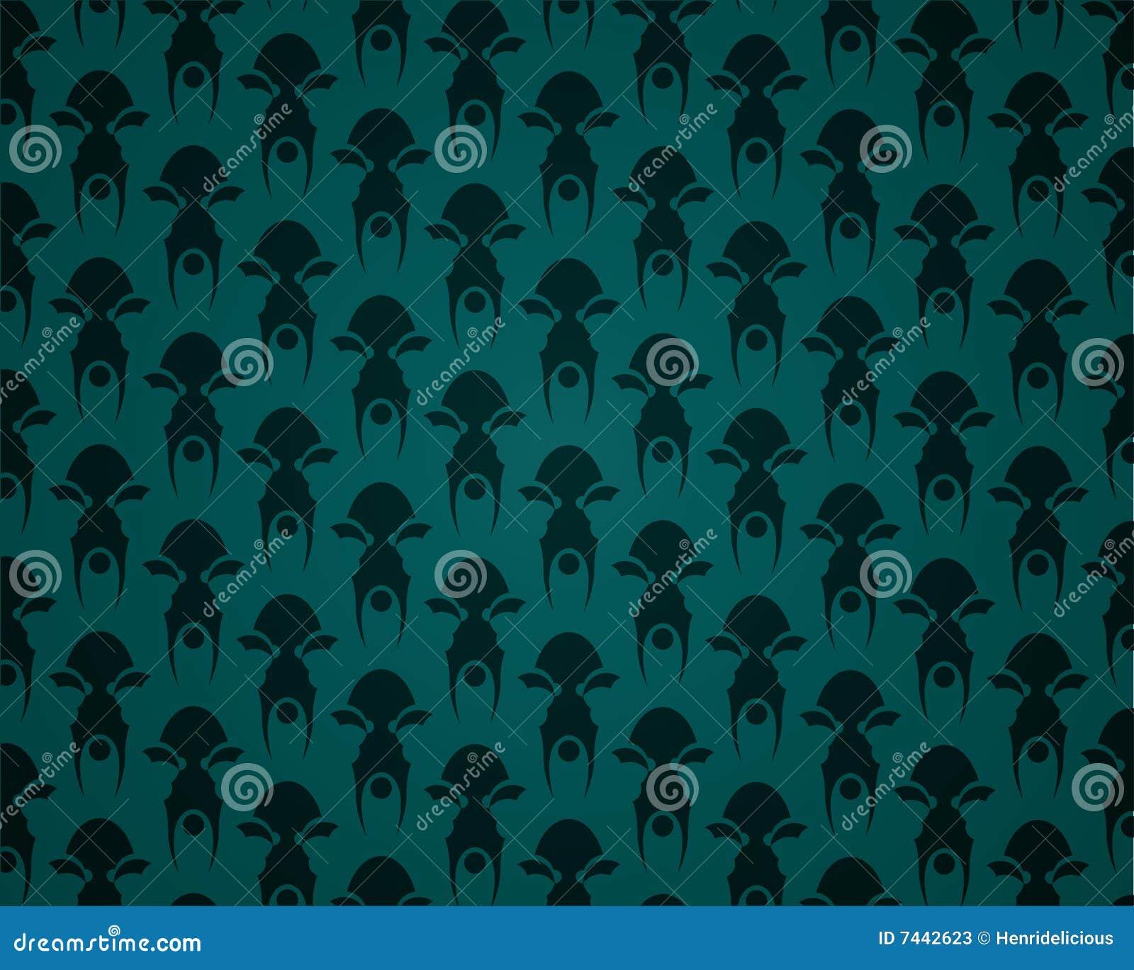 Dunkle Tapete Vektor Abbildung Illustration Von Muster 7442623