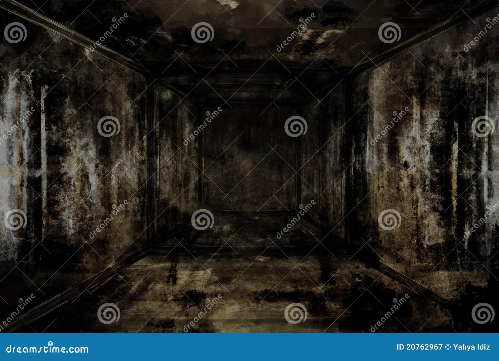 Dunkler Raum