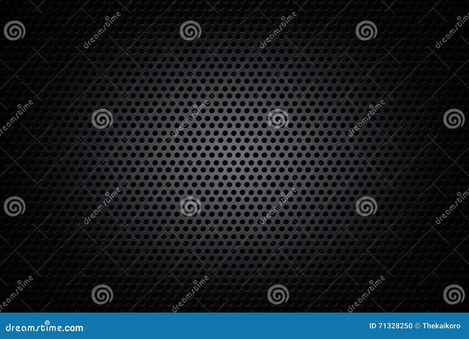Dunkles Chromschwarzes und Ganghintergrund masern Vektorillustration